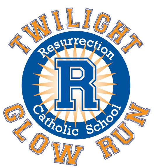 logo glow run